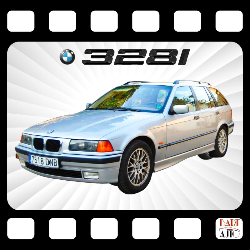 Coches para rodajes BMW 328 portada