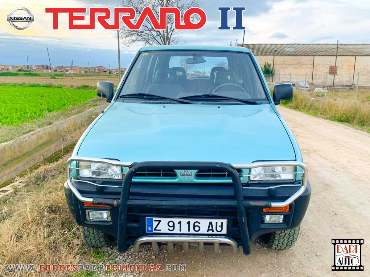 Coches para rodajes Nissan Terrano II frontal