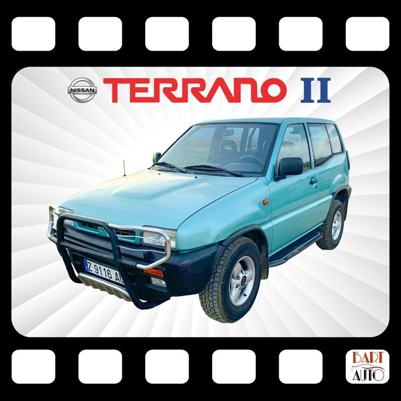 Coches para rodajes Nissan Terrano II portada
