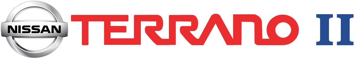 Coches para rodajes Nissan Terrano II logo
