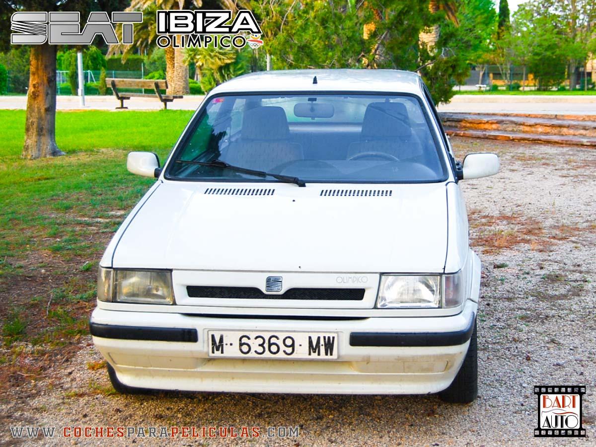 Coches para rodajes Seat Ibiza frontal