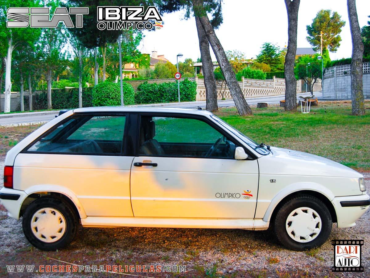 Coches para rodajes Seat Ibiza lateral 1