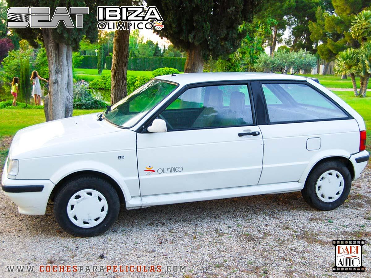 Coches para rodajes Seat Ibiza lateral 2