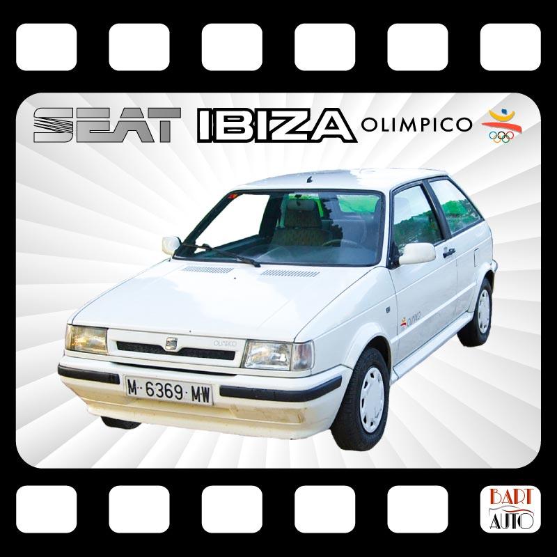 Coches para rodajes Seat Ibiza portada