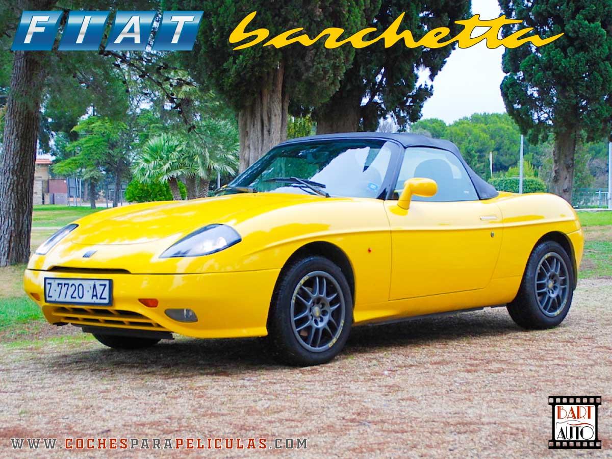 Fiat Barchetta para películas delantera