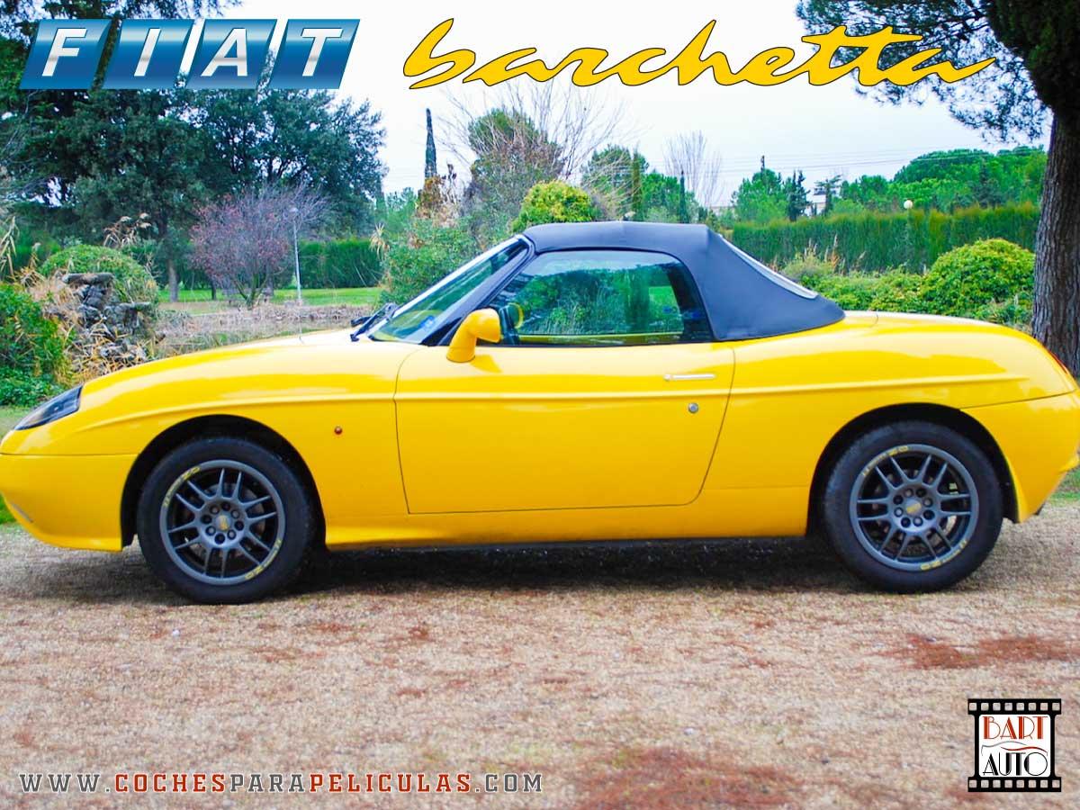 Fiat Barchetta para películas lateral