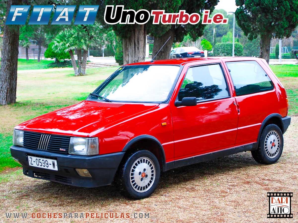 Fiat Uno Turbo para películas delantera
