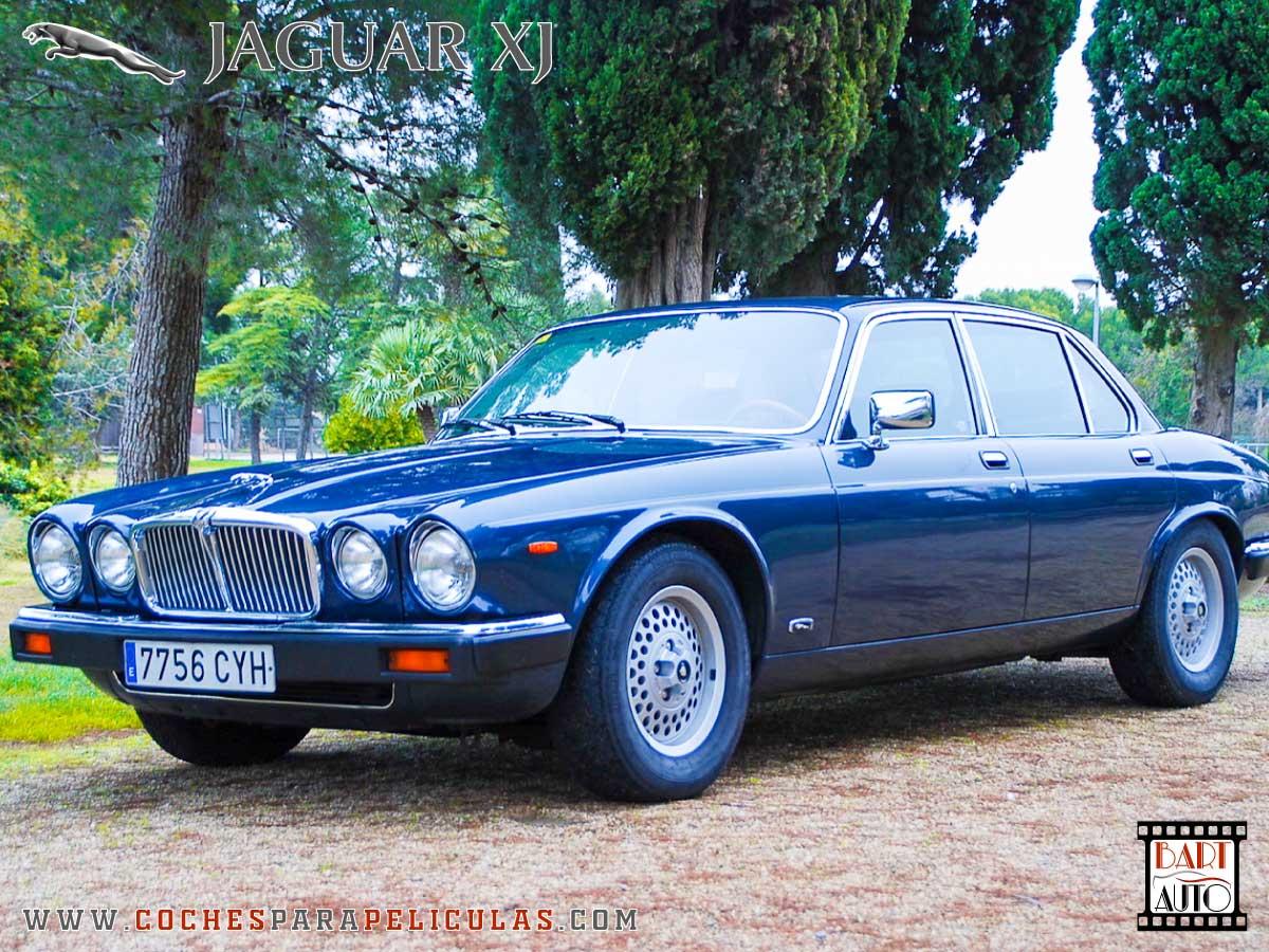 Jaguar XJ para películas delantera