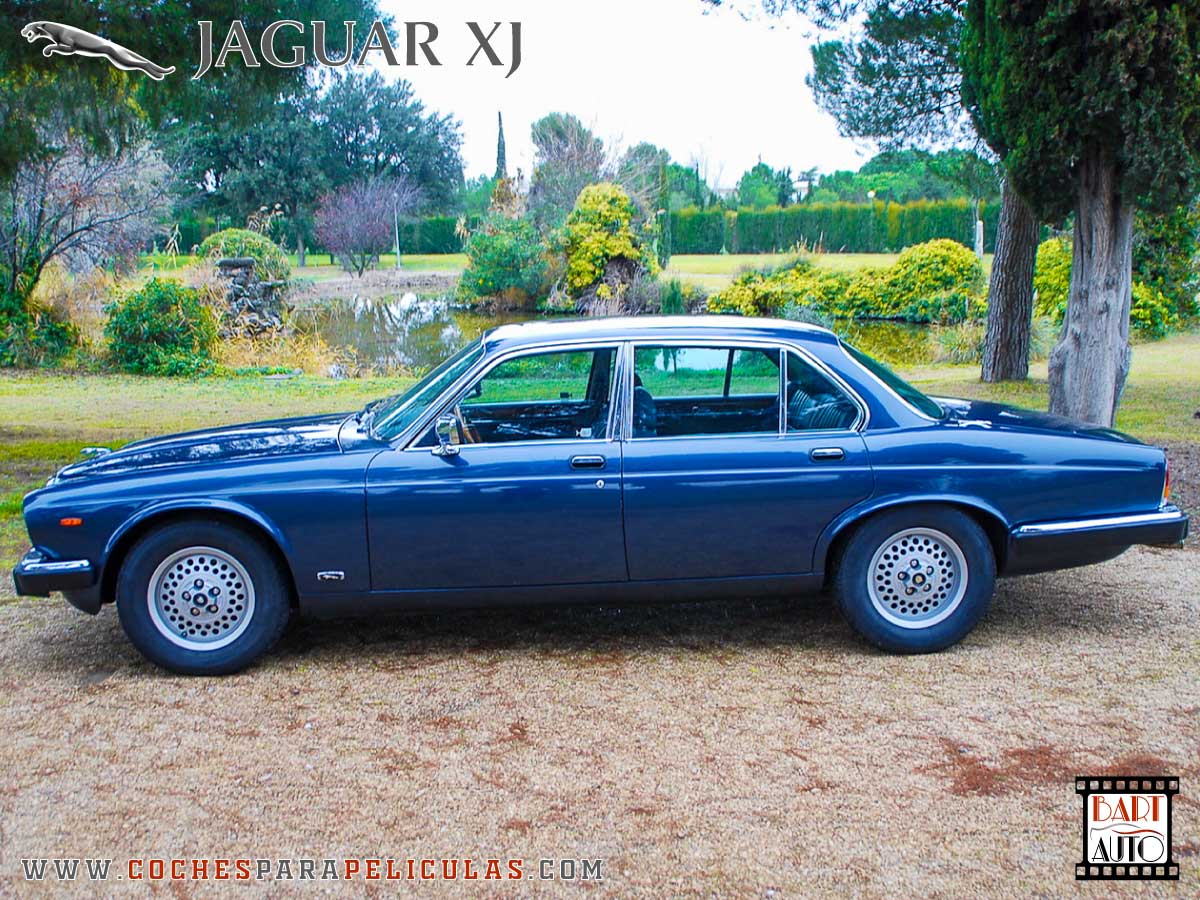 Jaguar XJ para películas lateral