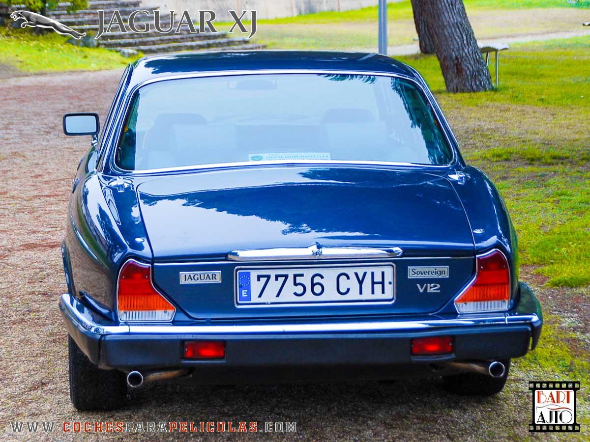 Jaguar XJ para películas trasera