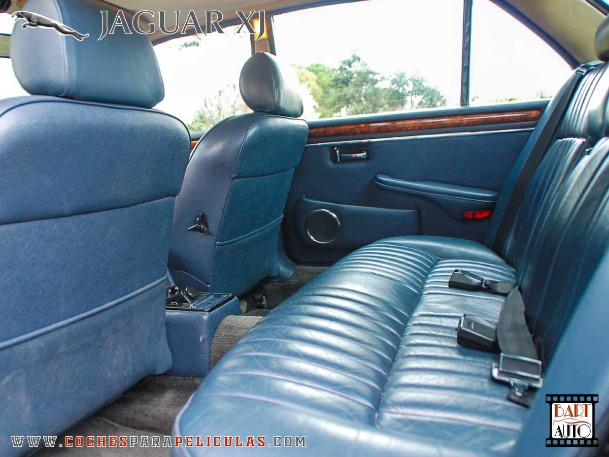 Jaguar XJ para películas asientos
