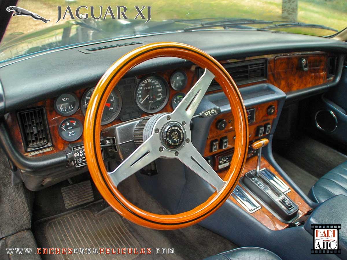 Jaguar XJ para películas salpicadero