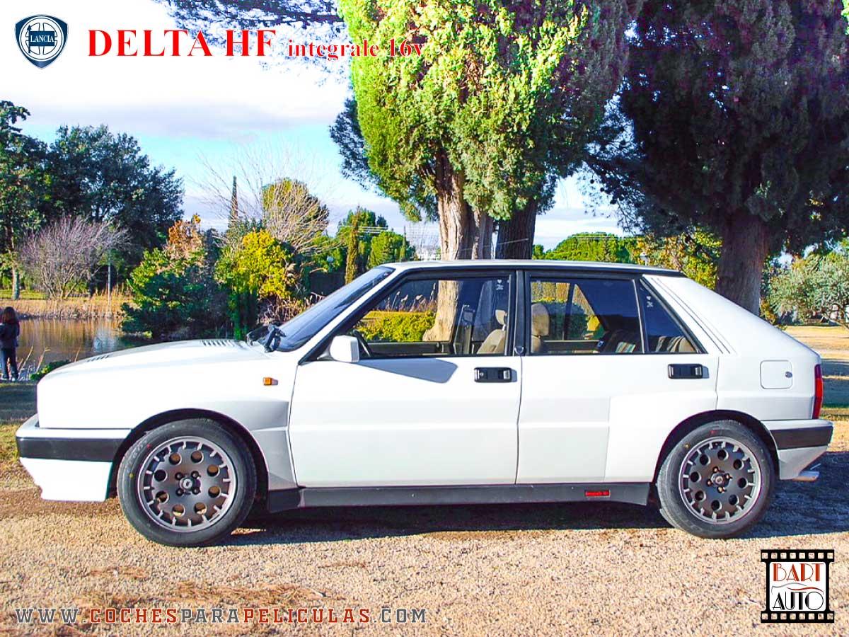 Lancia Delta para películas lateral