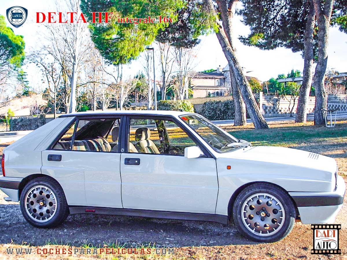 Lancia Delta para películas exterior