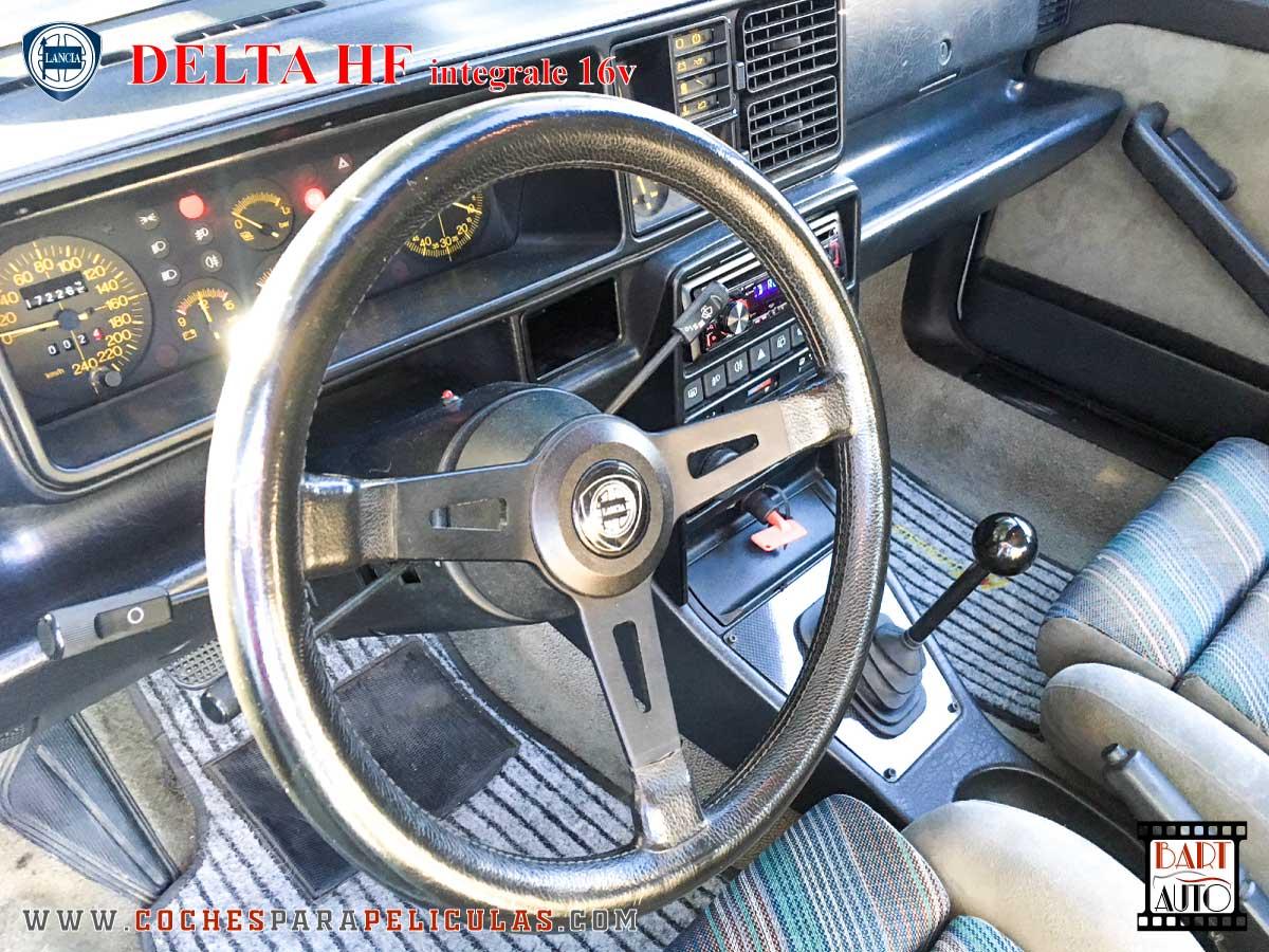 Lancia Delta para películas interior
