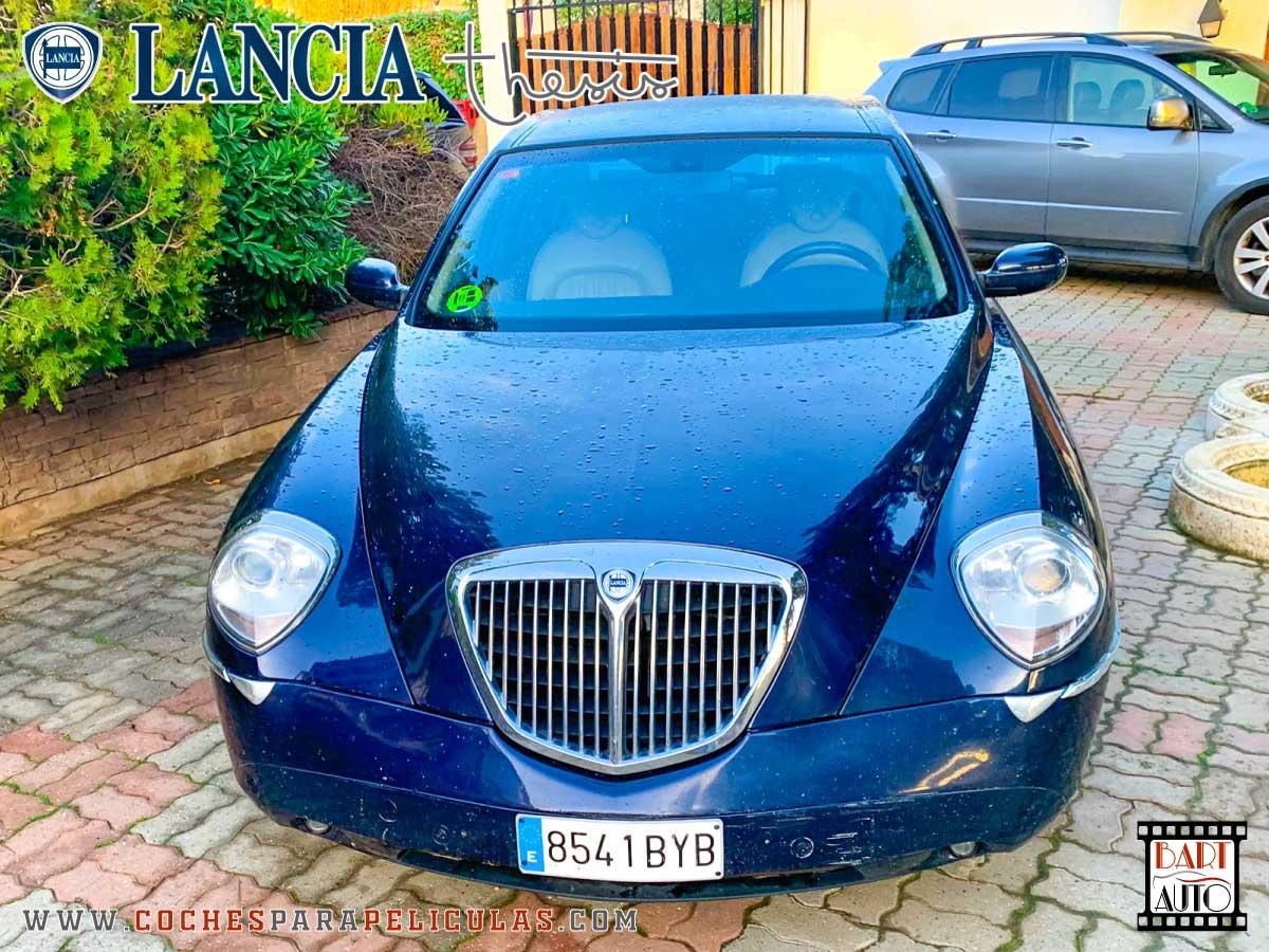 Lancia Thesis para rodajes frontal