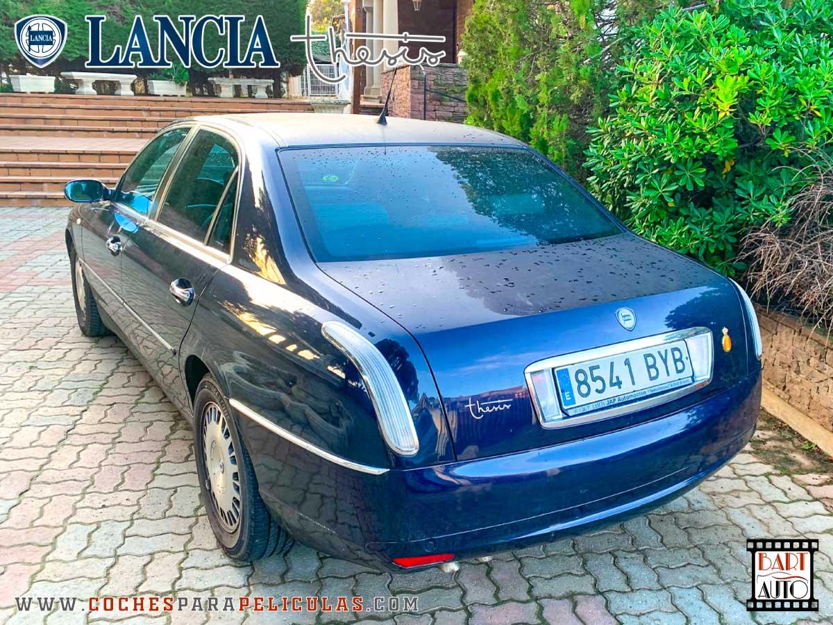 Lancia Thesis para rodajes trasera