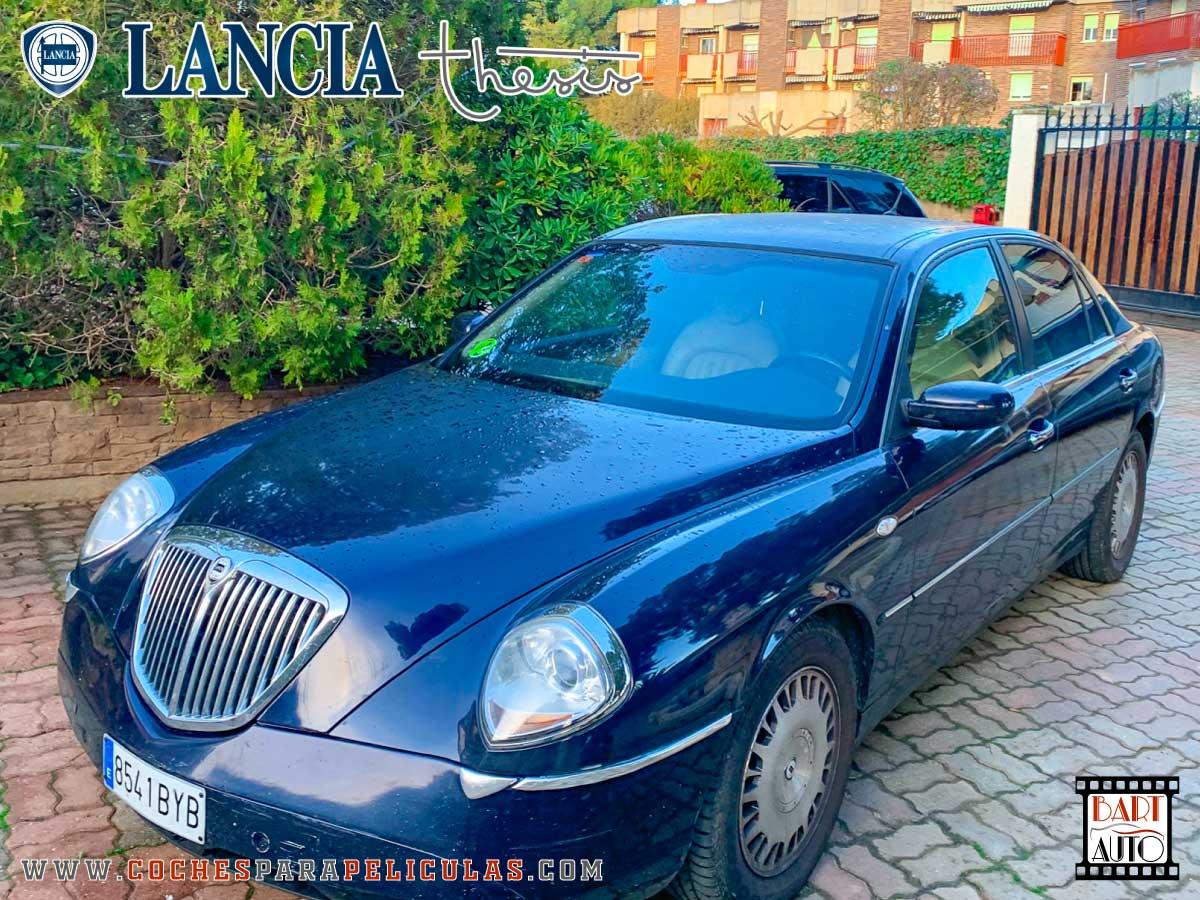 Lancia Thesis para rodajes banner exterior