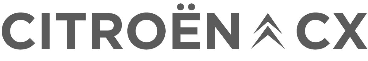 Citroën CX para películas logotipo