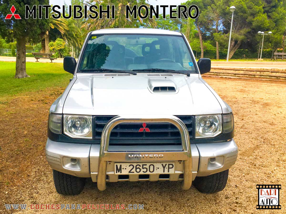 Mitsubishi Montero para películas frontal