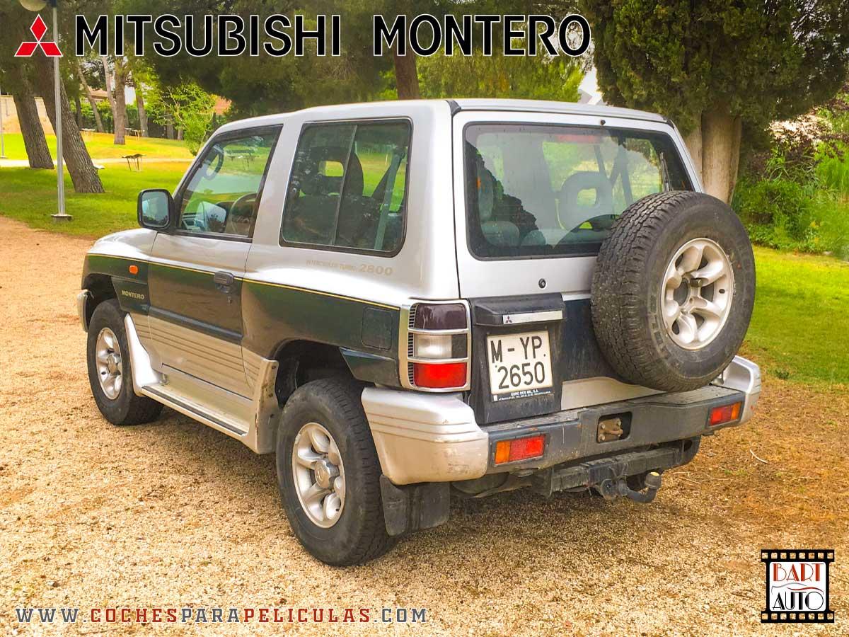 Mitsubishi Montero para películas exterior