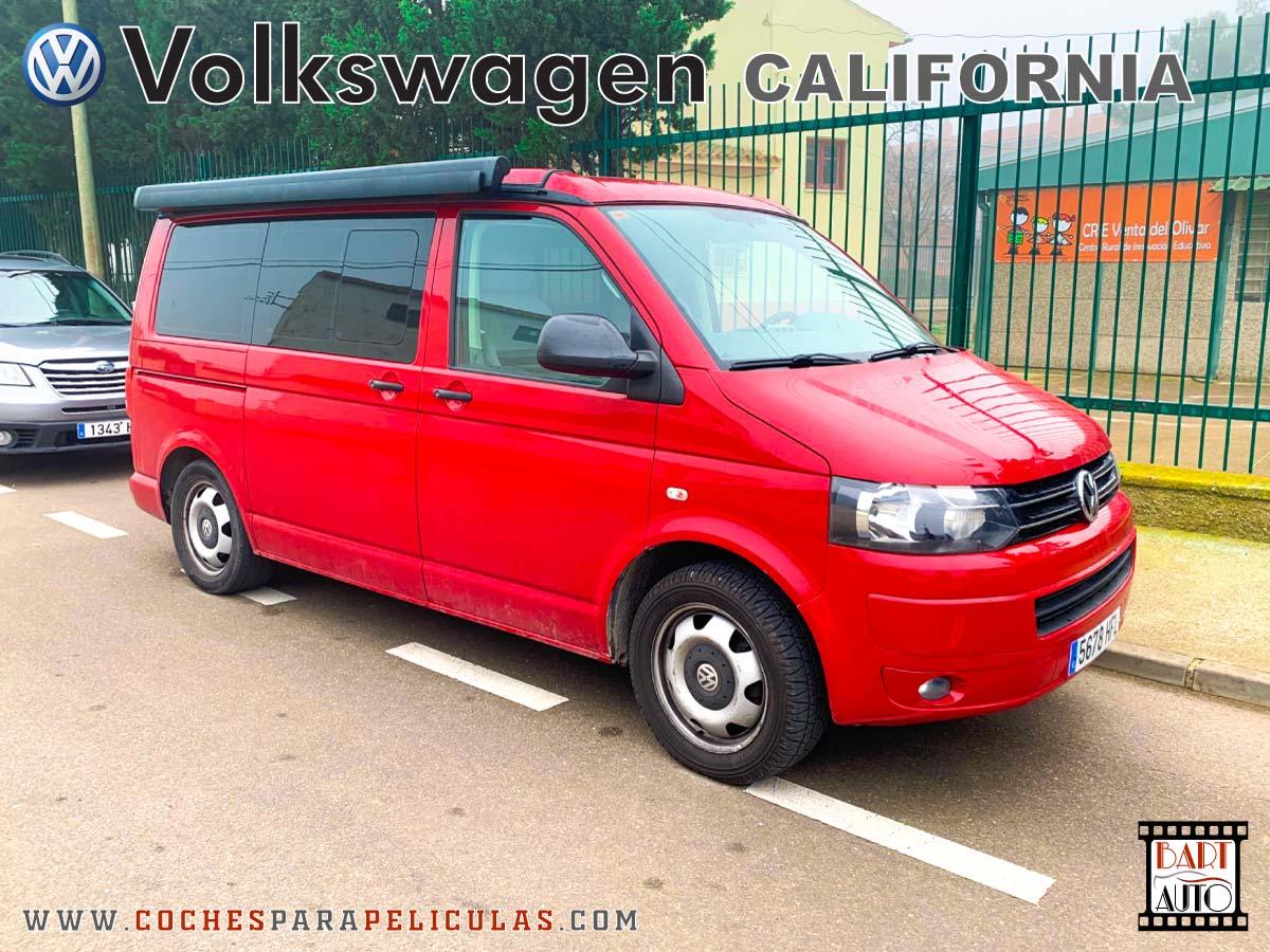 VolksWagen California para rodajes delantera