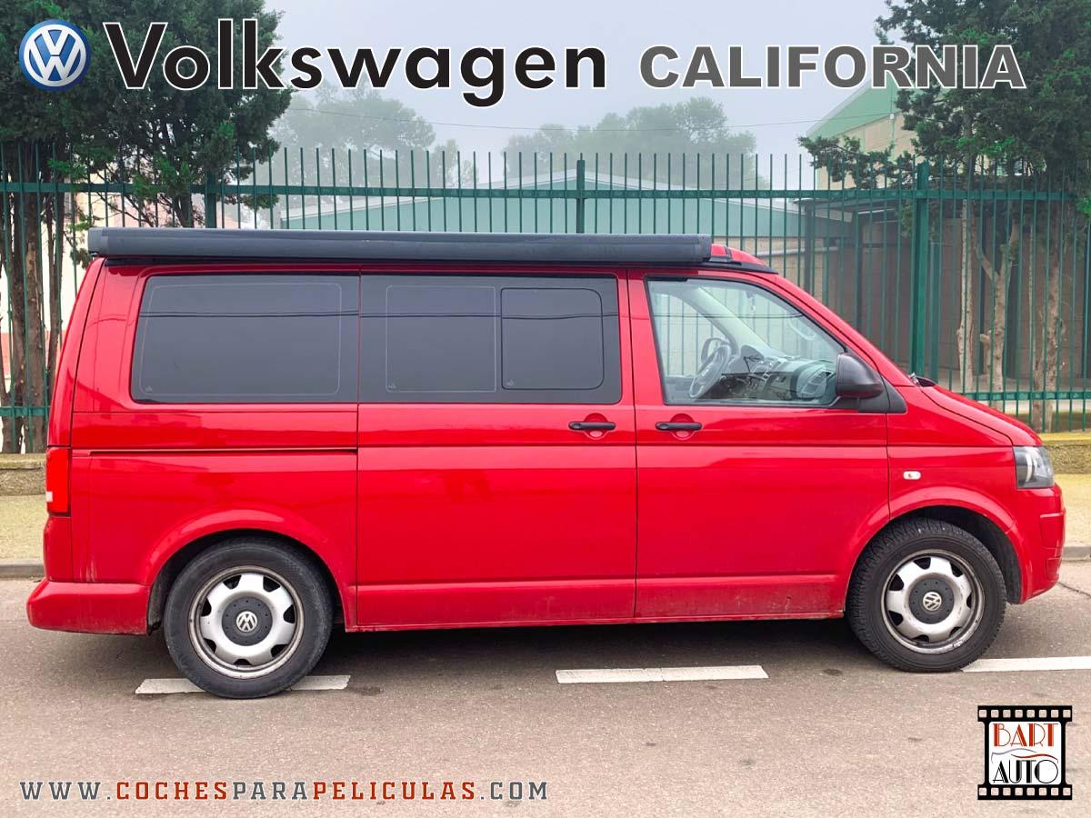 VolksWagen California para rodajes lateral